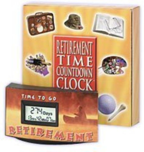Gag Gifts 19257: Retirement Countdown Clock Fishing -> BUY IT NOW ONLY: $38.59 on eBay!