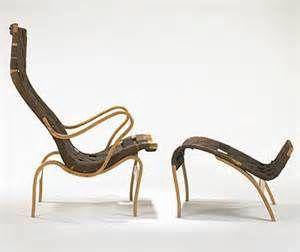 Bruno Mathsson--Chair & ottoman www.furnituredesign24.com