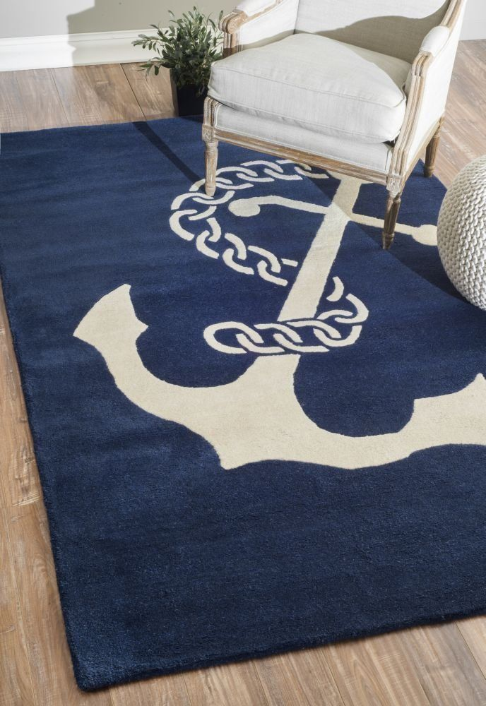 nautical dp away and anchors area jellybean ac deep sea amazon wheel anchor blue accent octopus in ships rug sailing com