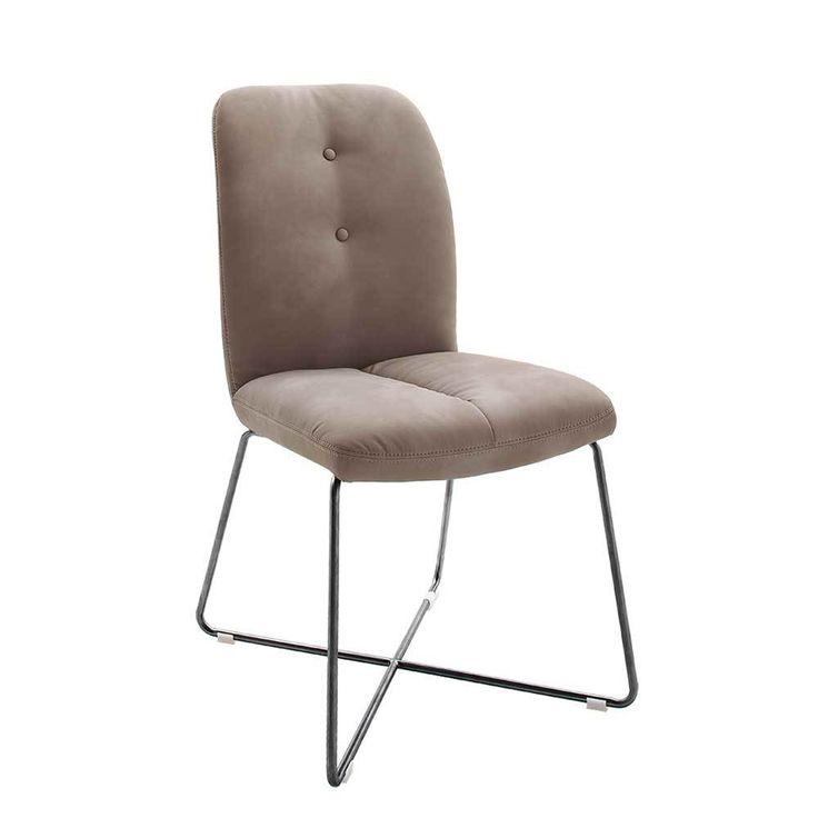 Amazing Stuhl Set in Grau Braun Edelstahl Anthrazit er Set Jetzt bestellen unter https moebel ladendirekt de kueche und esszimmer stuehle und hocker