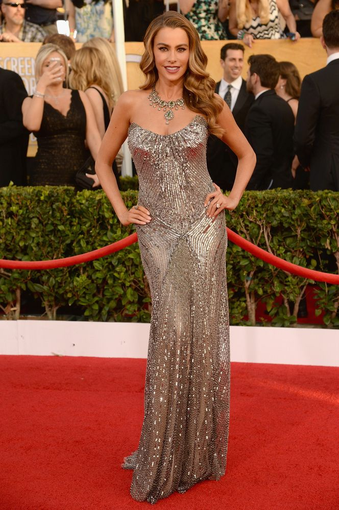 Sofia Vergara in Donna Karan Atelier | SAG Awards 2014 Red Carpet