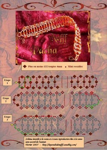bracelets - Shlomit Shalev - Picasa Web Albums;  tons of schemas