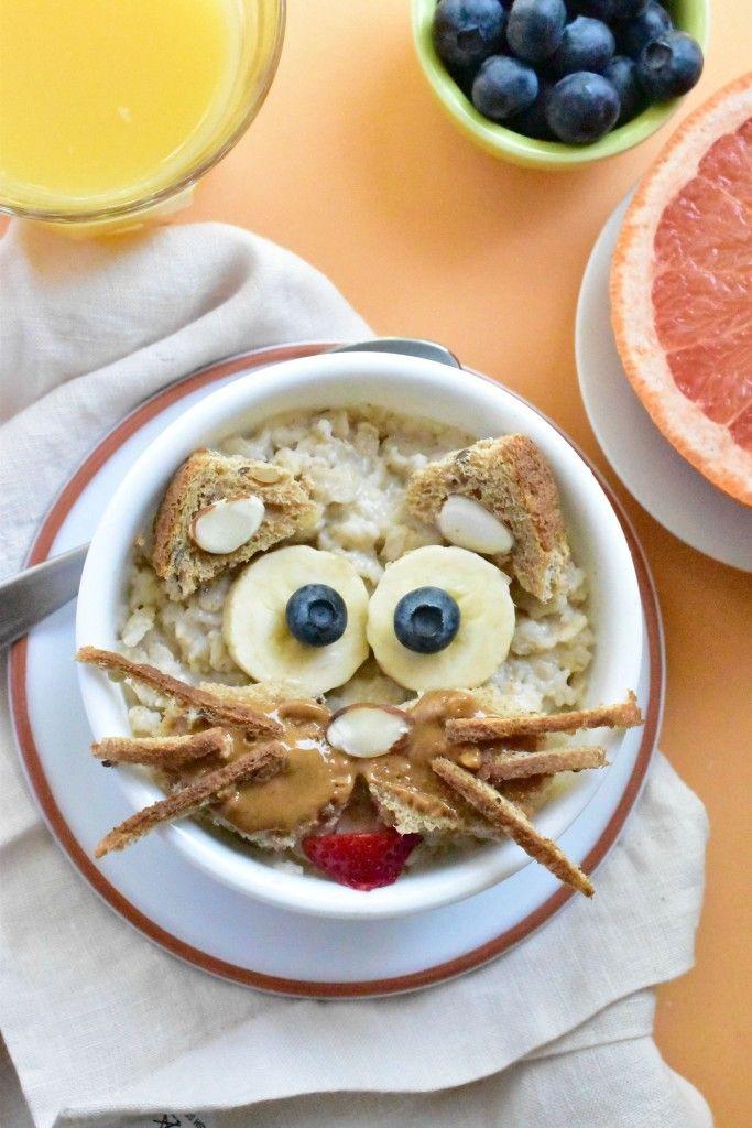 Kitty Cat Oatmeal: A fun kid-inspired, animal-shape breakfast!