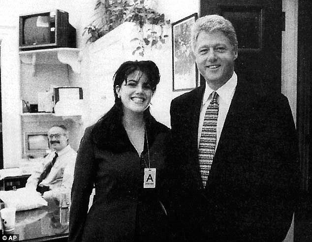 Outlandish: An Lewinsky affair-era email released from the Clinton library in Arkansas on ...