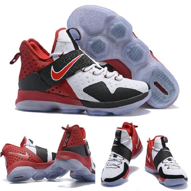 February 20,2017 Shoes Solar Red White Black Lebron 14