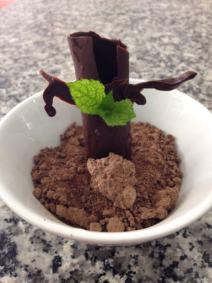 Nature chocolat