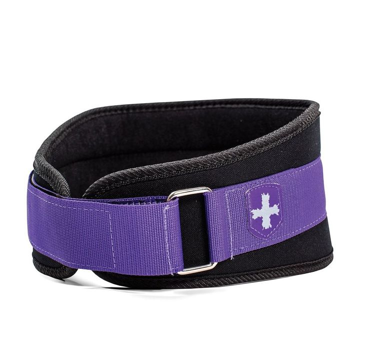 Harbinger Women's Nylon Weightlifting Belt with Flexible Ultralight Foam Core, 5 #Harbinger
