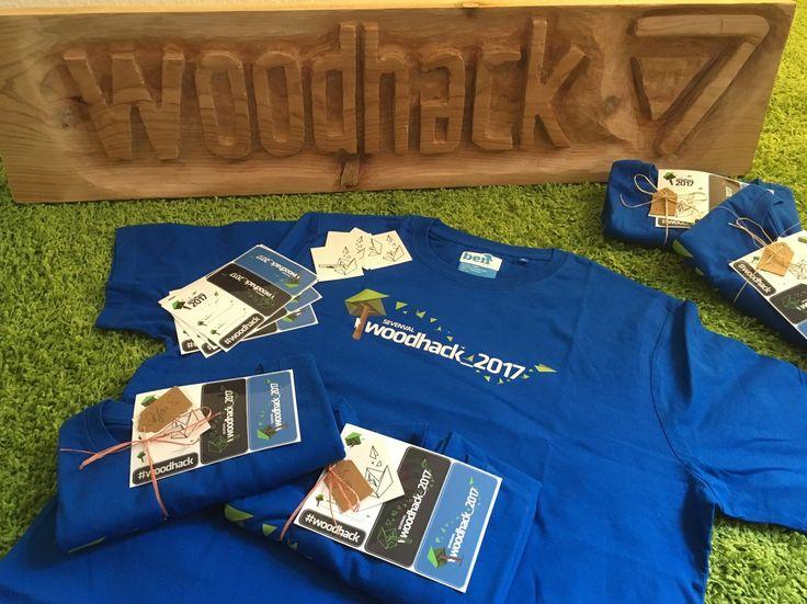Noch 2 Tage bis zum Sevenval #woodhack! Die Event Packages für 38 Sevenvallies sind gepackt und am liebsten würden wir sofort starten...