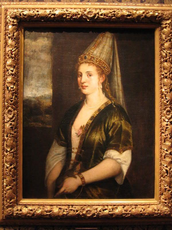 La Sultana Rossa.Тициан, 1550-е гг. Хранится в Музее Джона и Мейбл Ринглинг, Сарасота, штат Флорида, США