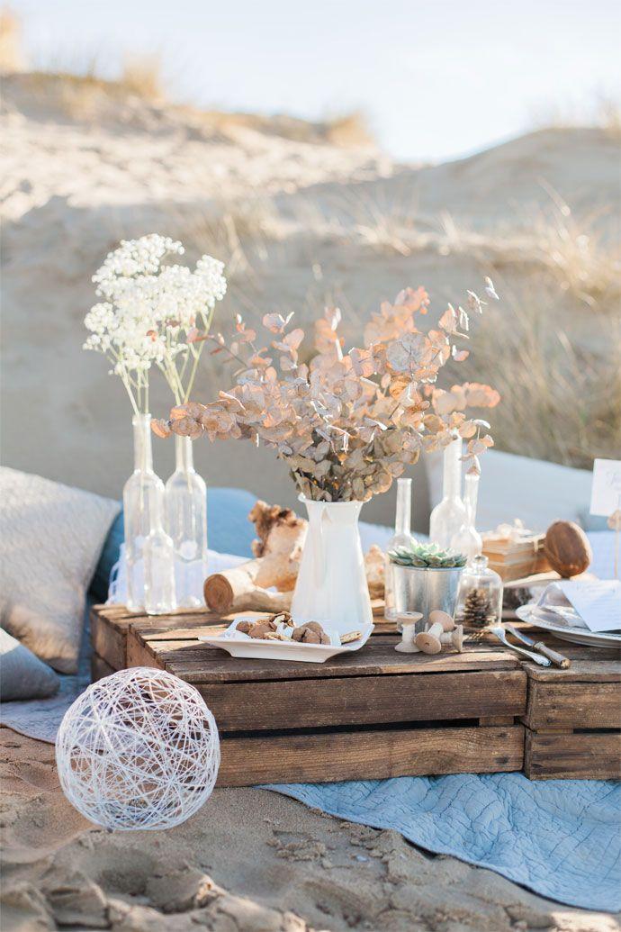 Shooting mariage sur la plage   Photographe : Marine Szczepaniak   Donne-moi ta main - Blog mariage