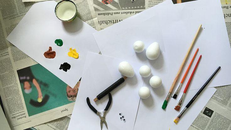 ber ideen zu styroporkugeln auf pinterest dekokugeln bl ten basteln und papiertischdecke. Black Bedroom Furniture Sets. Home Design Ideas