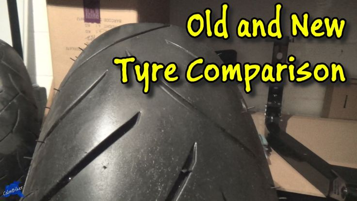 Old and New Tyre Comparison