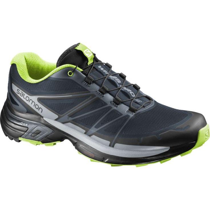 Salomon Men's Wings Pro 2 Trail Running Shoes, Size: 10.5, Blue