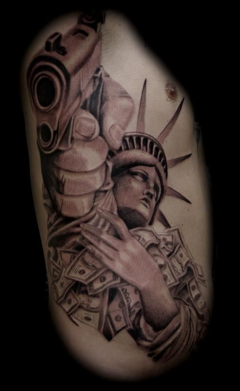 Statue of Liberty by Jason Frieling : Tattoos
