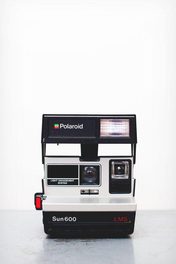 Polaroid Sun 600 LMS Camera on Etsy, $25.00