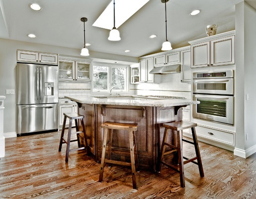 An Oddly Shaped Kitchen Island: Kitchen Odd Shaped Island Design, Pictures, Remodel, Decor