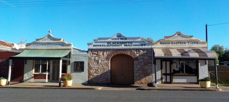 Old Shops, Terowie, South Australia