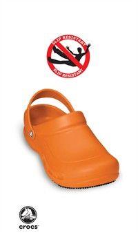 Style # BATALI: ORANGE: Zuecos Crocs Bistró cerrados - Edición especial Mario Batali, naranja