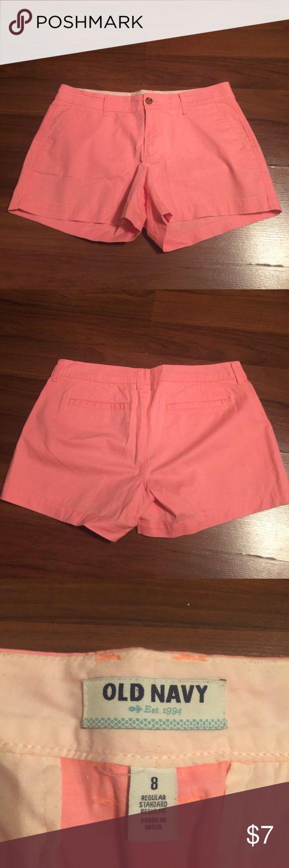 Coral shorts Size 8 coral shorts old navy Old Navy Shorts Jean Shorts