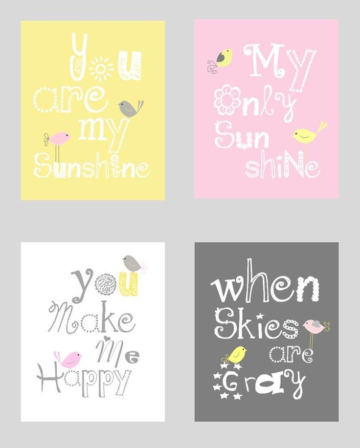 pink grey and yellow rooms   girls pink, grey, and yellow room   sunshine Pink, Gray and Yellow Art ...