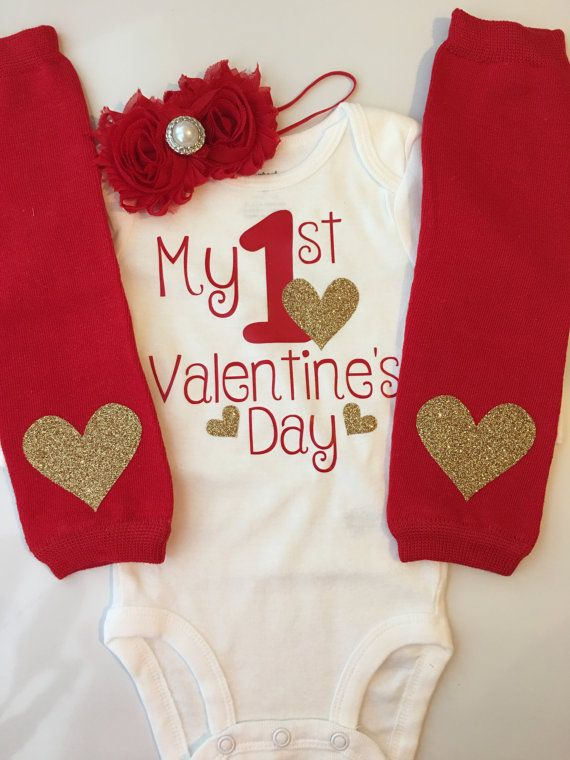 Baby Girl Outfit Baby Valentines Day Outfit By AboutASprout