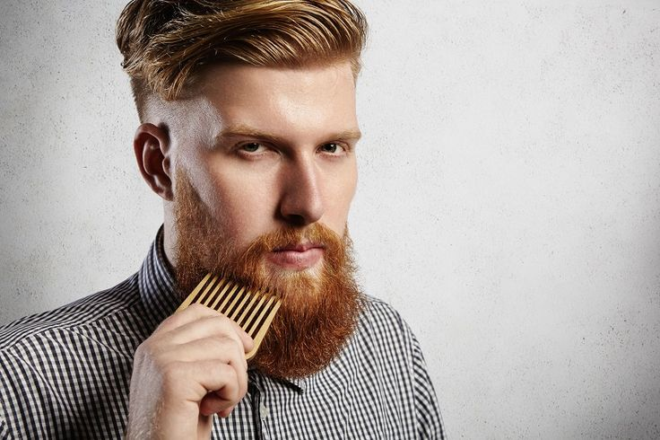 Most beard combs I've seen are hand made and are usually made out of wood, but others are made from plastic, metal or even bone or horns.