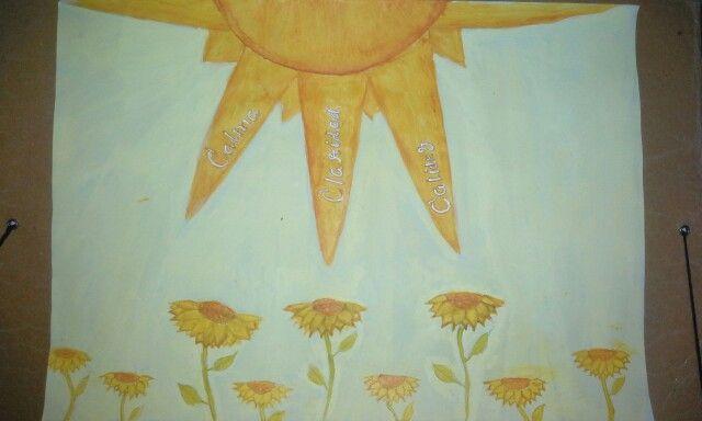 composición color.equilibrio en amarillo