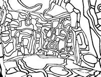 9 best Coloriages adultes Jean Dubuffet images on