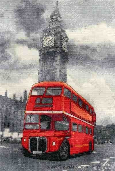 London Bus - London Scenes - Cross Stitch Kit - This was recently bought for me.  Hopefully will be finished before Christmas!