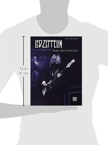 Led Zeppelin -- Bass TAB Anthology: Authentic Bass TAB (Authentic Bass Tab Editions)