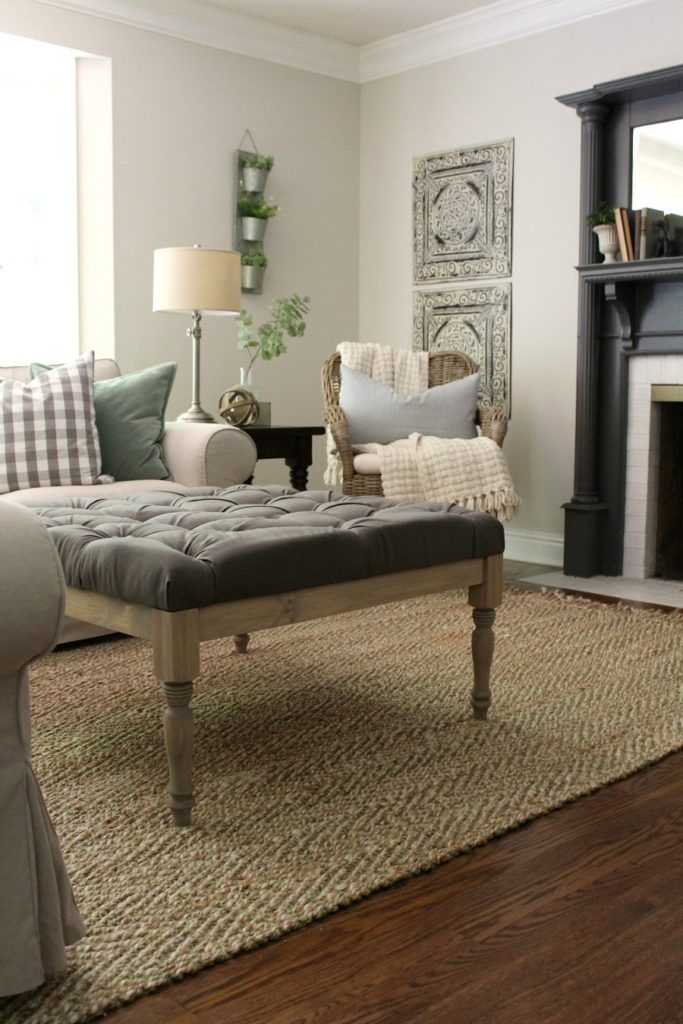 DIY Upholstered Coffee Table | The Tale of an Ugly House - 25+ Best Ideas About Upholstered Coffee Tables On Pinterest