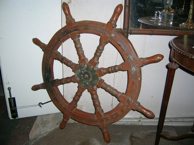 Pirate Ship Steering Wheel Called