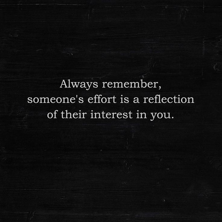 Woah.... WOAH! This goes for all relationships, friends and family included.