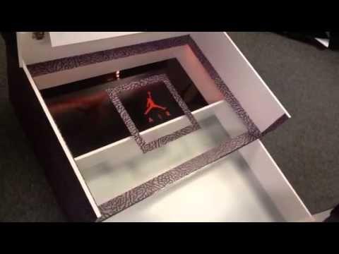 Build a giant shoe box! Nike Air Jordan - YouTube