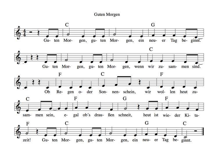 Ein Morgenkreis-Lied mit 2 Klatschern, ein paar Gesten dazu und der Tag fängt fröhlich an -  Noten und mp3 hier: https://kitakiste.jimdo.com/shop/mp3/mp3-rituale/