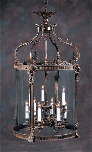 "Antique lighting with flair. Louis XV Round Lantern lanterns L7862  23-3/4"" x 44""H  list price: $8,747.50 your price: $6,998.00"