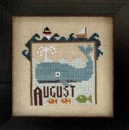 Joyful Journal - August - Cross Stitch Pattern
