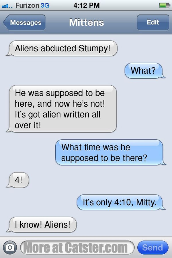 Texts From Mittens: The Supernatural Edition | Catster
