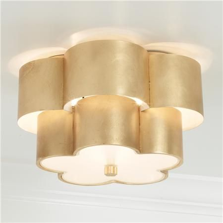 Tiered Daisy Shade Ceiling Light