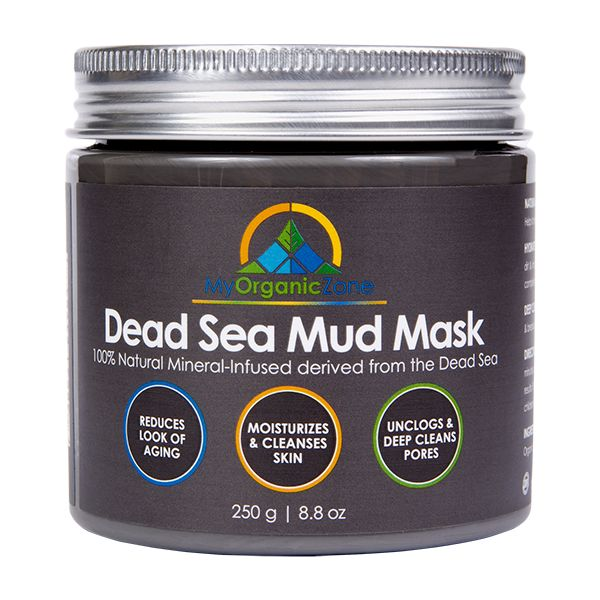 Dead Sea Mud Mask: https://myorganiczone.com/product/dead-sea-mud-mask/ Dead Sea Mud Mask is beneficial for   - Acne-Treatment,  - Face-Mask Anti-Aging  - Anti-Wrinkle – Natural Mineral Rich Formula – Hydrates Skin – Deep Cleans Pores  Dead Sea Mud Mask: Our Dead Sea Mud Mask was designed for the day to day maintenance of a clean and healthy looking skin. As a result, once applied, it helps leave your skin free of impurities, dirt and other undesirable elements.