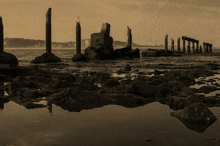 My Sea Of Ruins IIi Photograph  - My Sea Of Ruins IIi Fine Art Print