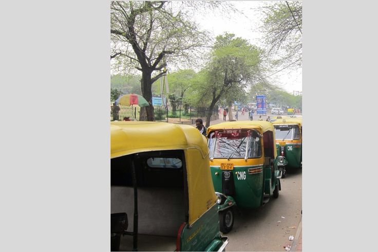Should try Tuk Tuk transport in Delhi.
