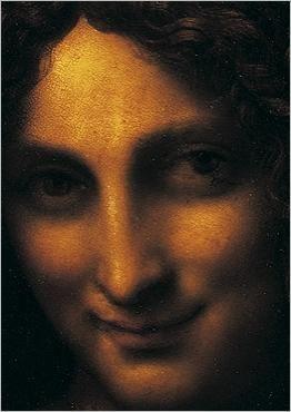 Saint Jean-Baptiste (détail) Leonardo DA VINCI