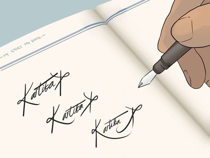 How+to+Sign+a+Cool+Signature+--+via+wikiHow.com