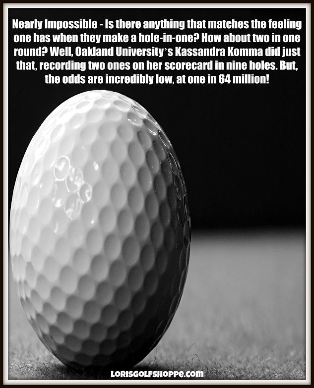 statistics and golf ball The university of toledo law review volume 24 summer 1993 number 4  cannot recover when hit by an errant golf ball since he assumed the risk, unless the.