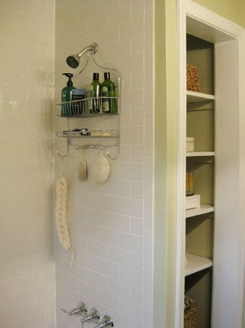 how to seal grout bathroom makeovers linen closets and white subway tiles. Black Bedroom Furniture Sets. Home Design Ideas