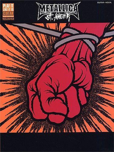 Metallica: St. Anger - Guitar Tab. £16.95
