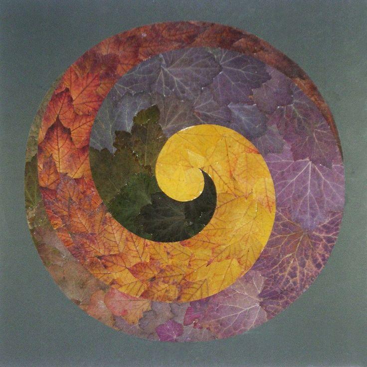 Техника ошибана, или Таинственная атмосфера работ из листьев - Ярмарка Мастеров - ручная работа, handmade