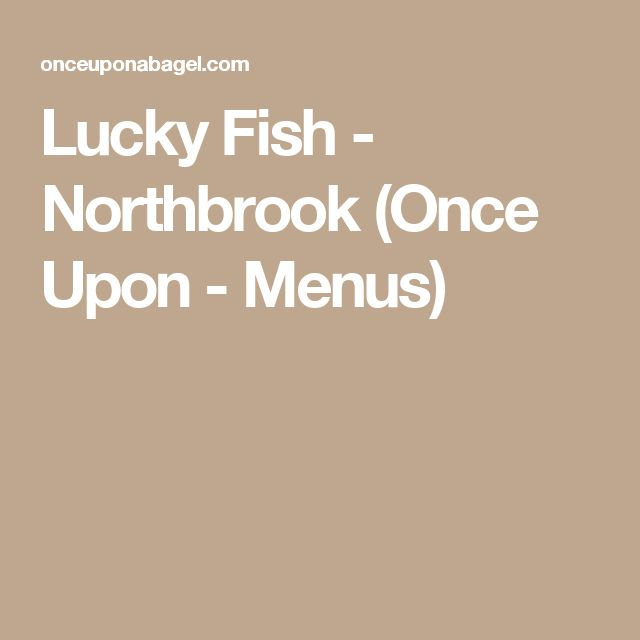 14 best places to eat images on pinterest places to eat for Lucky fish northbrook
