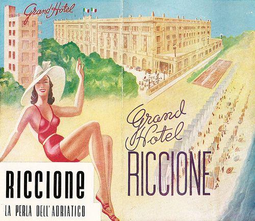 Grand Hotel di Riccione  #TuscanyAgriturismoGiratola